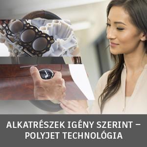 PolyJet technológia