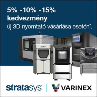 5% 10% 15% kedvezmény 3D nyomtató vásárlása esetén