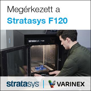 Stratasys F120 ipar minőségű, asztali 3D nyomtató