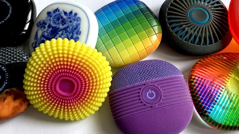 Ragyogó, Pantone minősített színek, elsőrangú textúrázási képesség: Stratasys J55