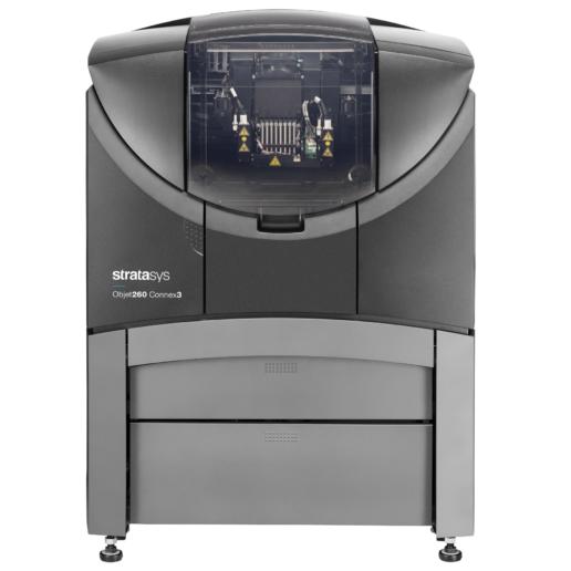 Objet260 Connex3 PolyJet technológiájú 3D nyomtató