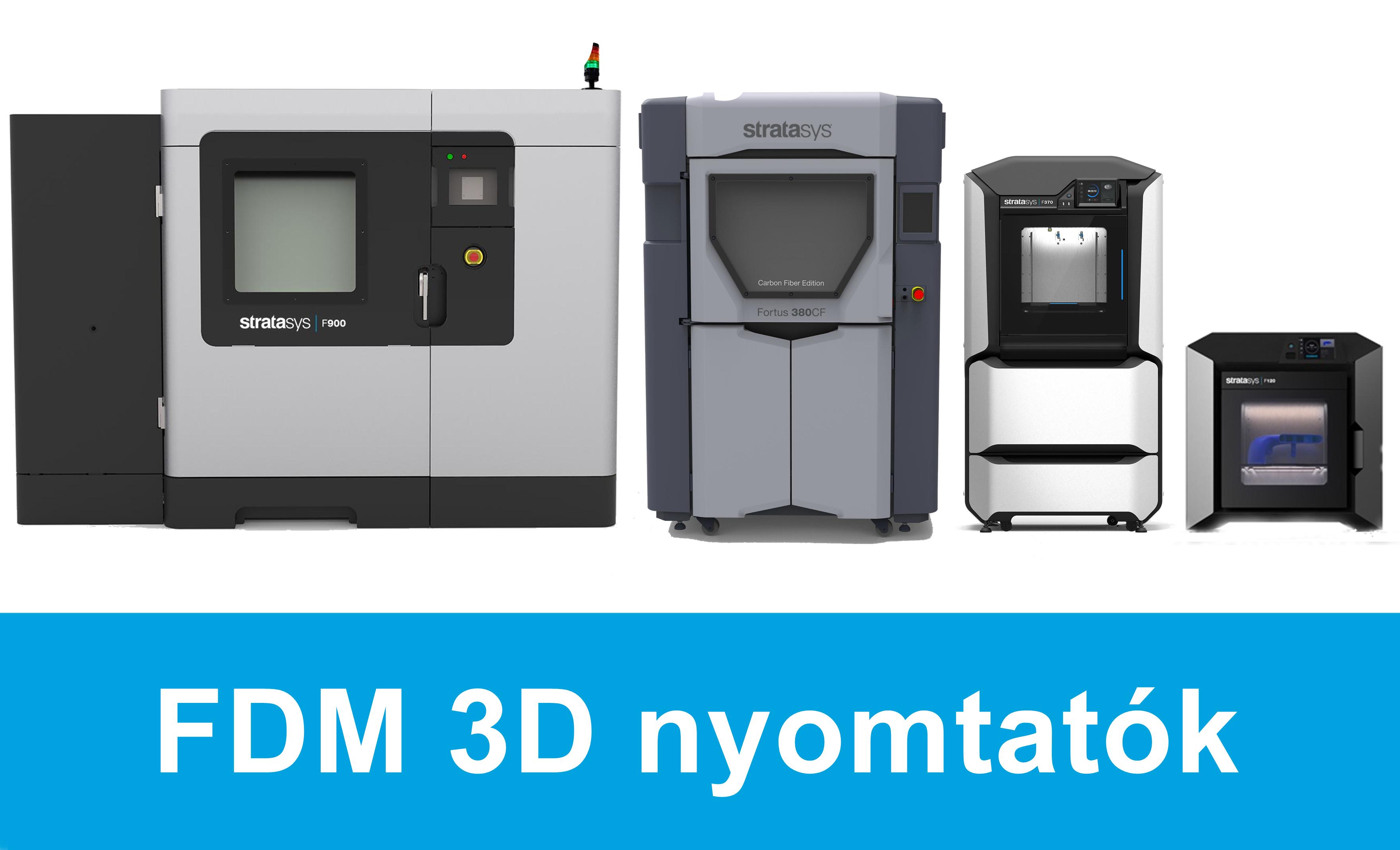 FDM 3D nyomtatók