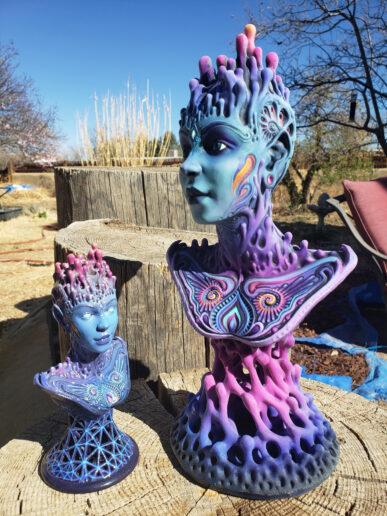 3D nyomtatott művészati alkotás