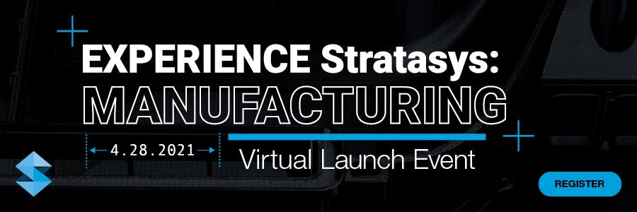 Regisztráljon a Stratasys 2021. április 28-i termékbemutatójára!