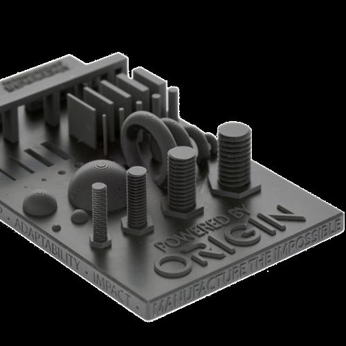 Stratasys Origin One 3D nyomtatóval készült mintadarab
