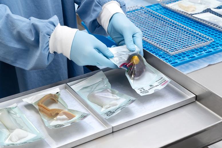 Stratasys J5 MediJet 3D nyomtatott orvosi modellek sterilizálása
